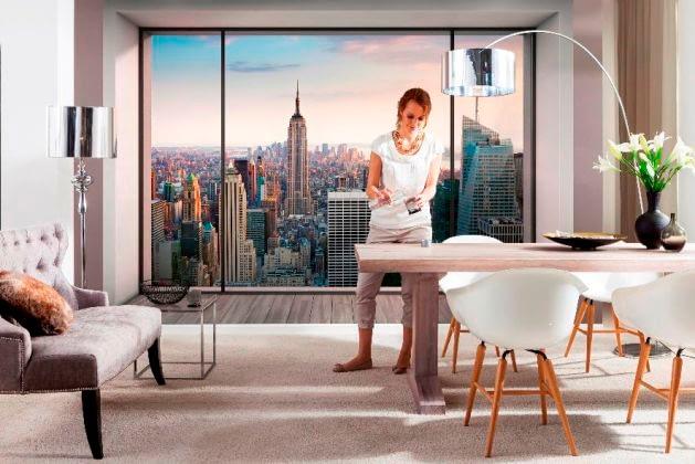 Fototapet 3D Penthouse, un fototapet foarte apreciat de clientii Deco-perete.ro
