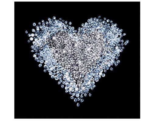 fototapet-inima-de-diamante-8367414