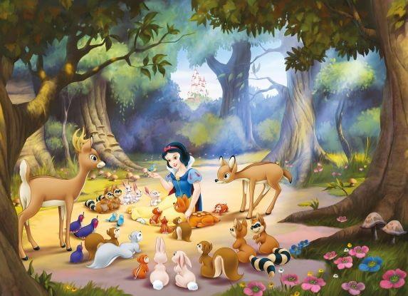 Fototapet Disney pentru copii Alba ca Zapada
