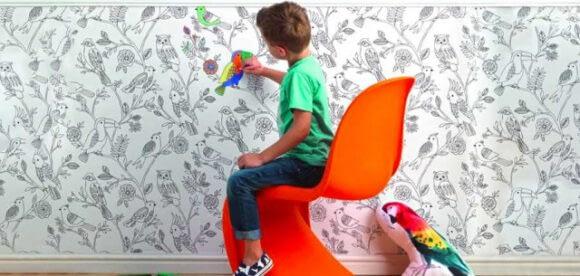 Tapetul de colorat pentru copii – o activitate relaxanta si creativa