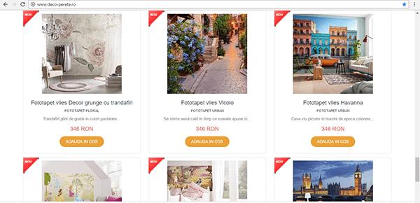 decoratiuni pentru pereti de la Deco-perete.ro intr-un magazin online modern.