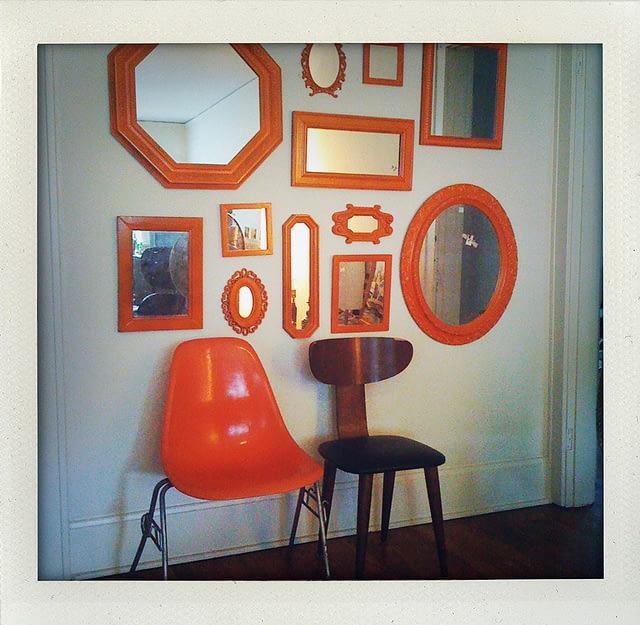 Oglinzi decorative. Sursa: flickr.com