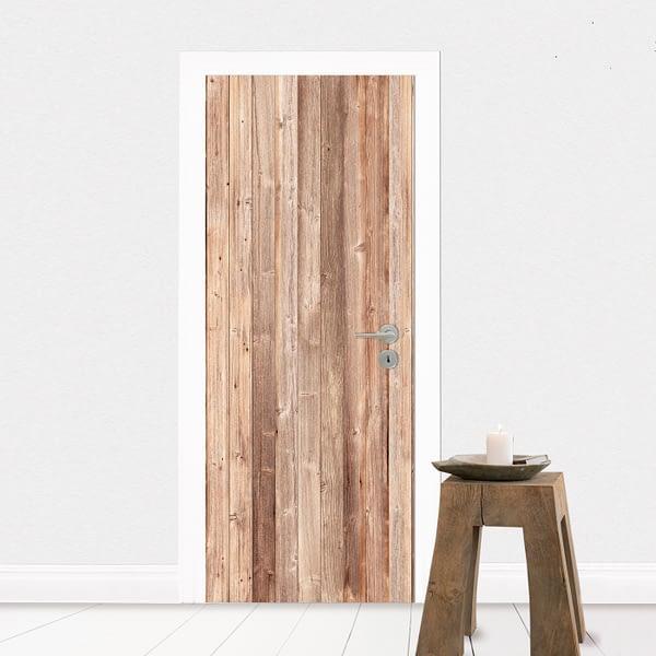 Fototapet Placat cu lemn pentru un decor in stil scandinav pe deco-perete.ro