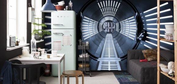 Fototapet Star Wars acasa la tine, pentru fanii seriei intergalactice