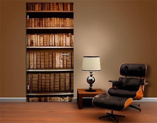 fototapet biblioteca