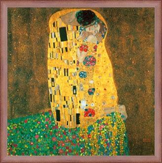 Poster sarutul - Gustav Klimt si miscarea secesionista
